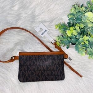 NWT Michael Kors Leather Belt Bag